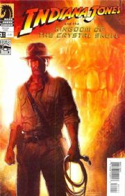Indiana Jones Kingdom Of The Crystal Skull #1 Struzan Cover B (2008) Dark Horse comic book